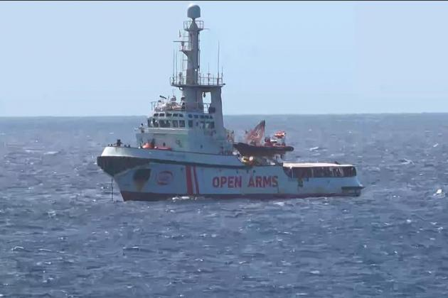 Six EU countries willing to take migrants from Open Arms ship