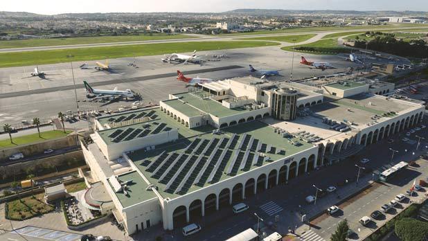 Aeroporto Malta : Malta international airport s profits rise to million