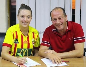 Tracy Teuma, latest signing for Birkirkara Women. Photo: Birkirkara FC