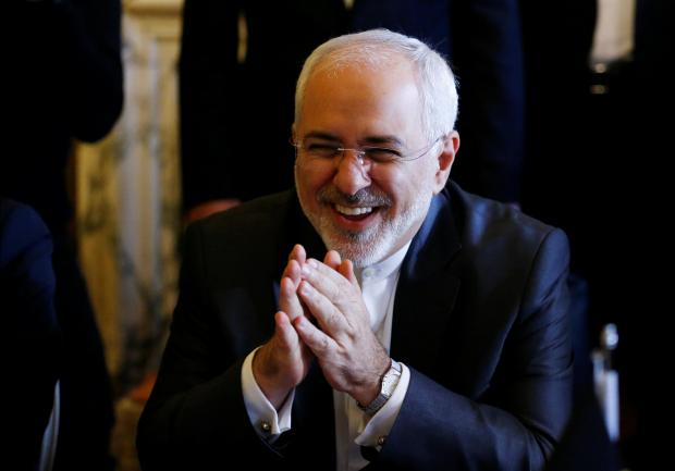 Iran's Foreign Minister Zarif.