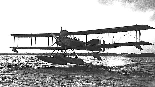 Short Type 184 seaplane.