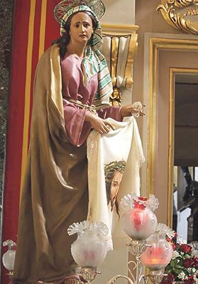 Senglea's statue of Veronica.