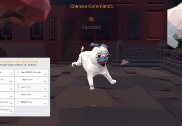New virtual dog created to help children learn Mandarin