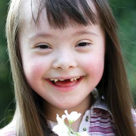 Research shows that between 30 and 50 per cent of children with Down syndrome are obese.