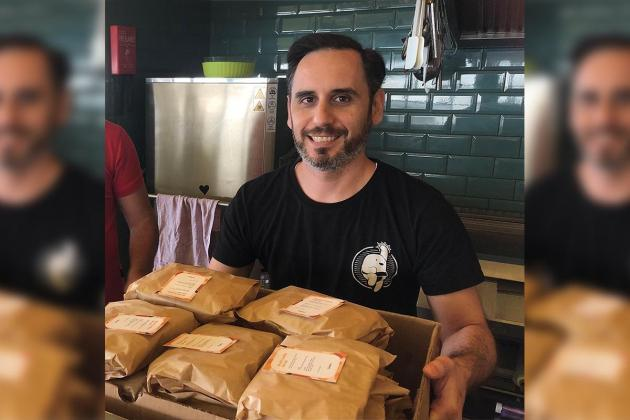 Local company's food donation drive to continue beyond pandemic