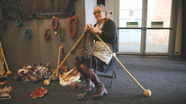 Knitting And Stitching Show Opening Times : Knitting  is trendy
