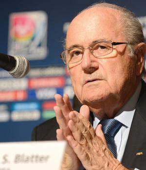 Sepp Blatter has accused UEFA of trying to derail<br />FIFA's reform process.