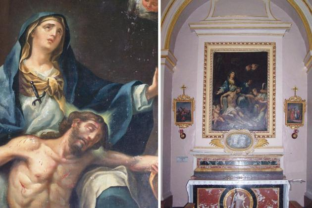 Church defends controversial relocation of altarpiece at Kirkop