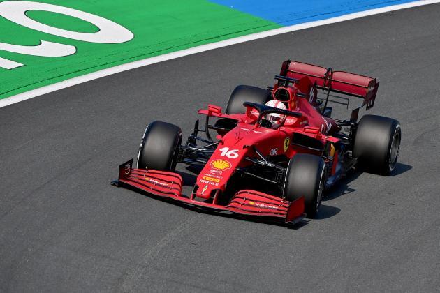 Leclerc tops Dutch GP practice as Hamilton breaks down