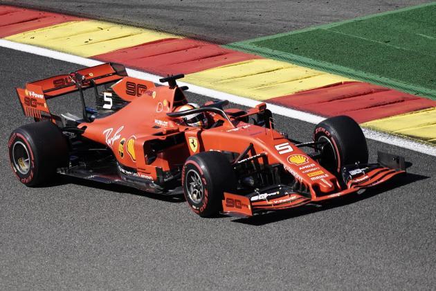 Updated: Leclerc pips Vettel as Ferrari dominate Belgian GP practice
