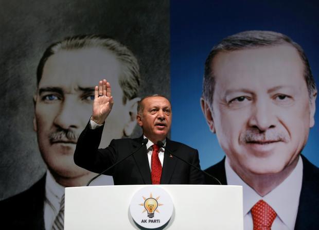 Erdogan has denied that Turkey is facing an economic crisis. Photo: Reuters