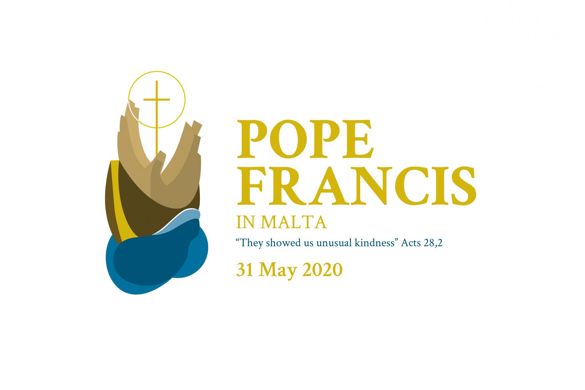 The logo for May's papal visit