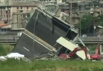 Search operation ends in Genoa, bridge death toll rises to 43