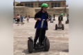Watch: Segways turn Tritons Fountain into track