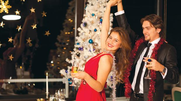 A good Christmas party requires no unflattering Santa hats or limp mistletoe.