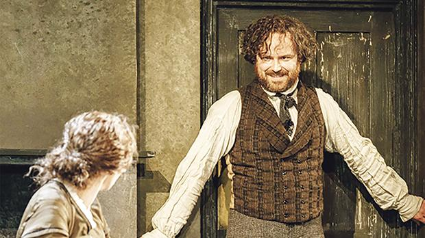 Rory Kinnear as socialist revolutionary Karl Heinrich Marx in Young Marx.