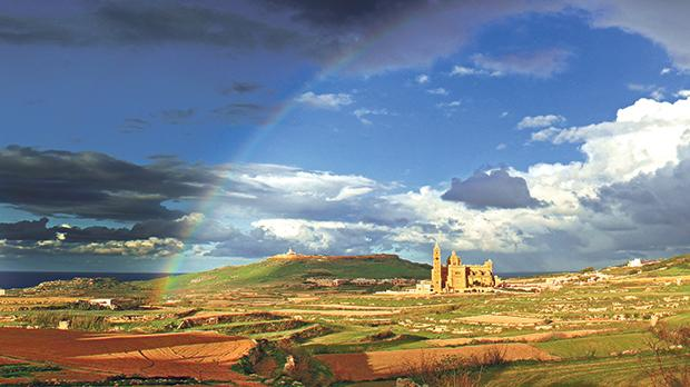 Rainbow over Ta' Pinu. In their Lenten message, our bishops encouraged us to keep focused on the Transfiguration by holding on to the values of beauty, goodness and truth. Indeed, we need beauty to combat the utilitarian rampage on our built and unbuilt environment. Photo: Shutterstock