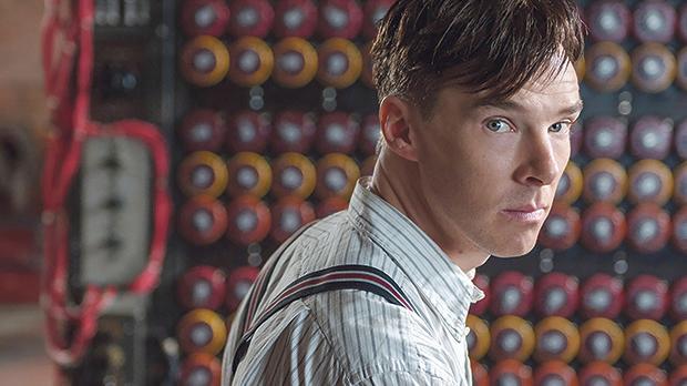 Benedict Cumberbatch in The Imitation Game.