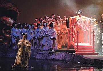 Giacomo Puccini's much-loved opera Madama Butterfly inaugurated the 11th Festival Mediterranea at the Astra Theatre in October 2012. Photos: Joe Attard