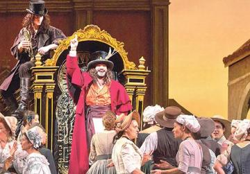 Donizetti's consistently popular comic opera