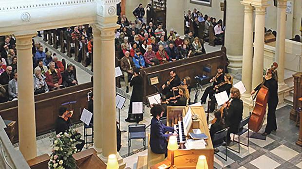 The final concert of the Malta International Organ Festival 2016. Photo: Mario Casha