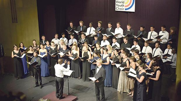 The World Youth Choir is an educational and social experience aimed at talented young singers. Photo: Luca Moczar