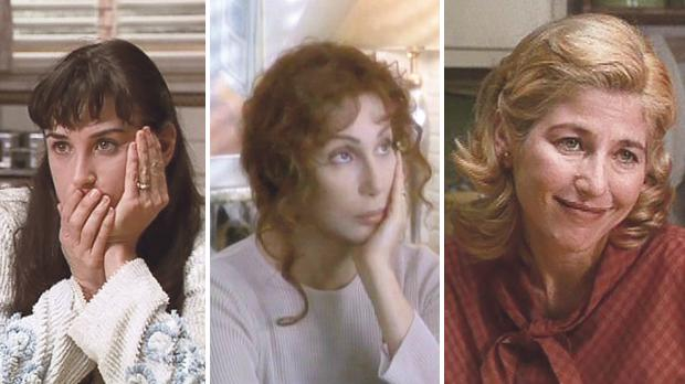 If These Walls Could Talk is a powerful portrait of three women's experience with abortion, starring (left) Demi Moore, Cher and Sissy Spacek.