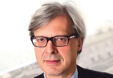 Public lecture by Vittorio Sgarbi