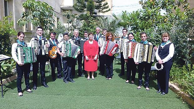 The Santa Maria Accordion Band
