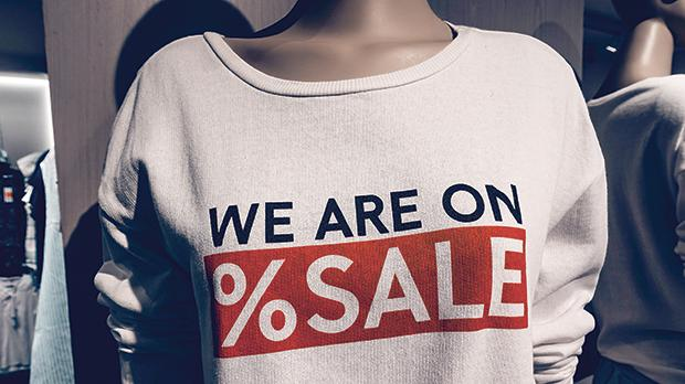 During a sale, retailers are obliged to indicate the final selling price on all sale items, not just the discount percentage.