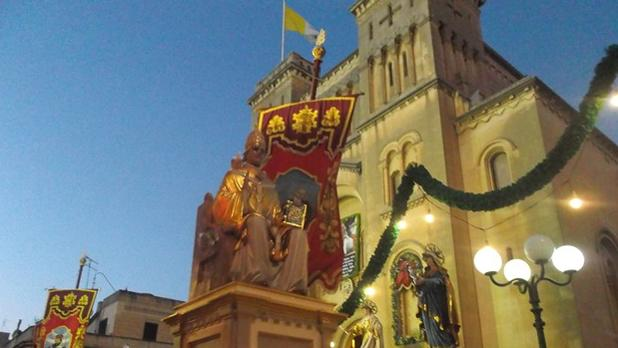 The feast of St. Gregory, Sliema. Photo: Heather Hayne