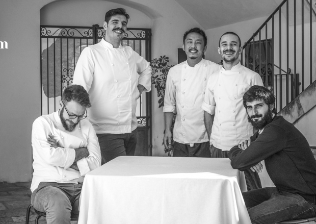 The team at Locanda del Colonnello.