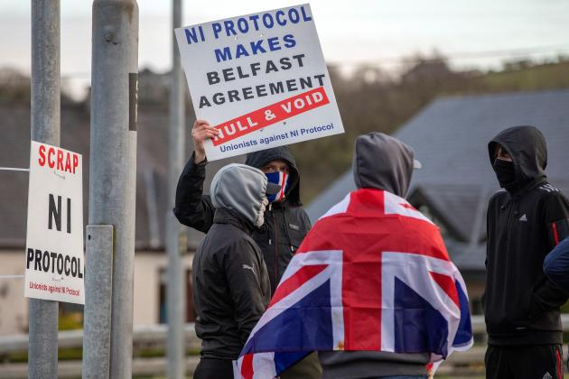 Northern Ireland riots signal dark new chapter for Brexit