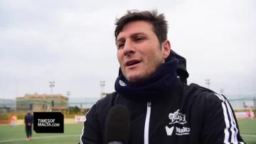 Watch: Malta training camp is special for me, says Zanetti