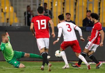 Salah scores late winner for Egypt, Morocco sink Cameroon