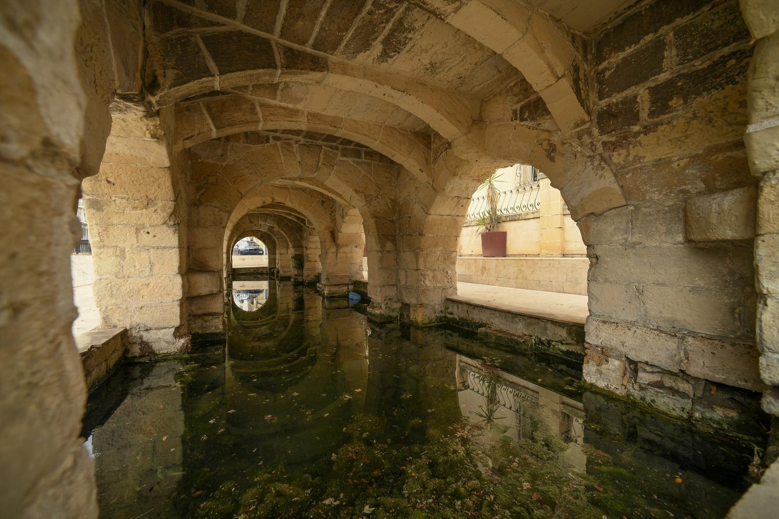 Msida's public wash house (Għajn Tal-Ħasselin) is undergoing restoration. Photo: Matthew Mirabelli
