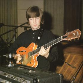 Rare John Lennon Guitar Up For Auction
