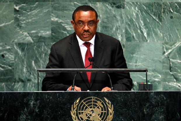 Ethiopia's Prime Minister Hailemariam Desalegn. File photo: Reuters