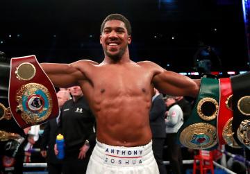 Joshua retains heavyweight crowns with Povetkin KO