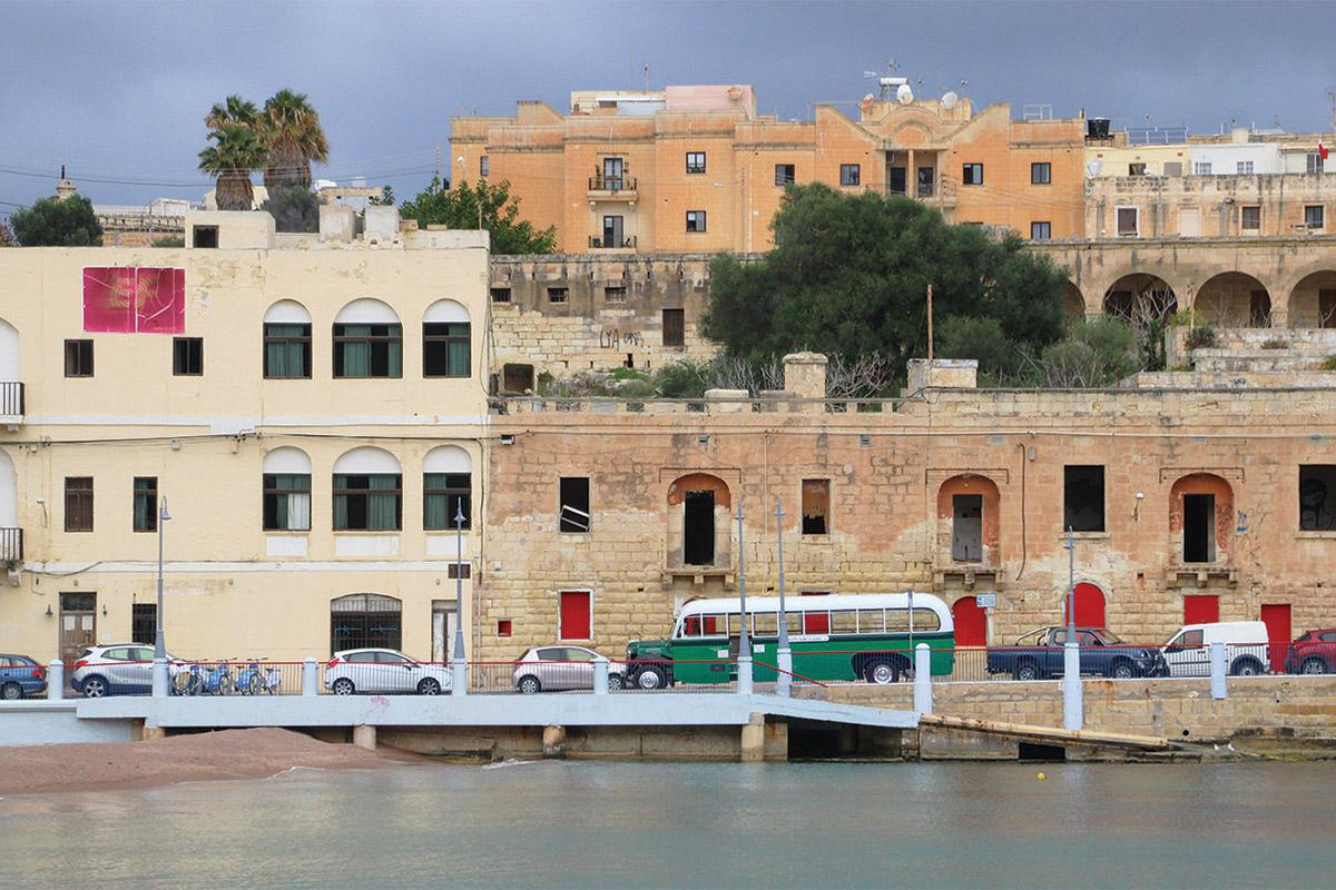 The tour leaves from City Gate, Valletta, to St George's Bay and back, passing through Msida, Sliema and St Julian's along the way.