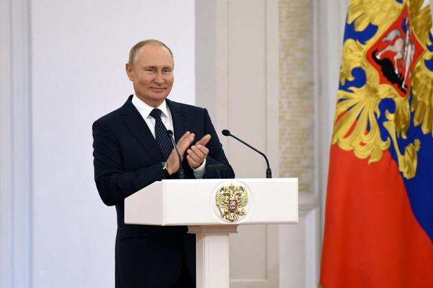 Putin 'absolutely healthy' after Covid in inner circle: Kremlin