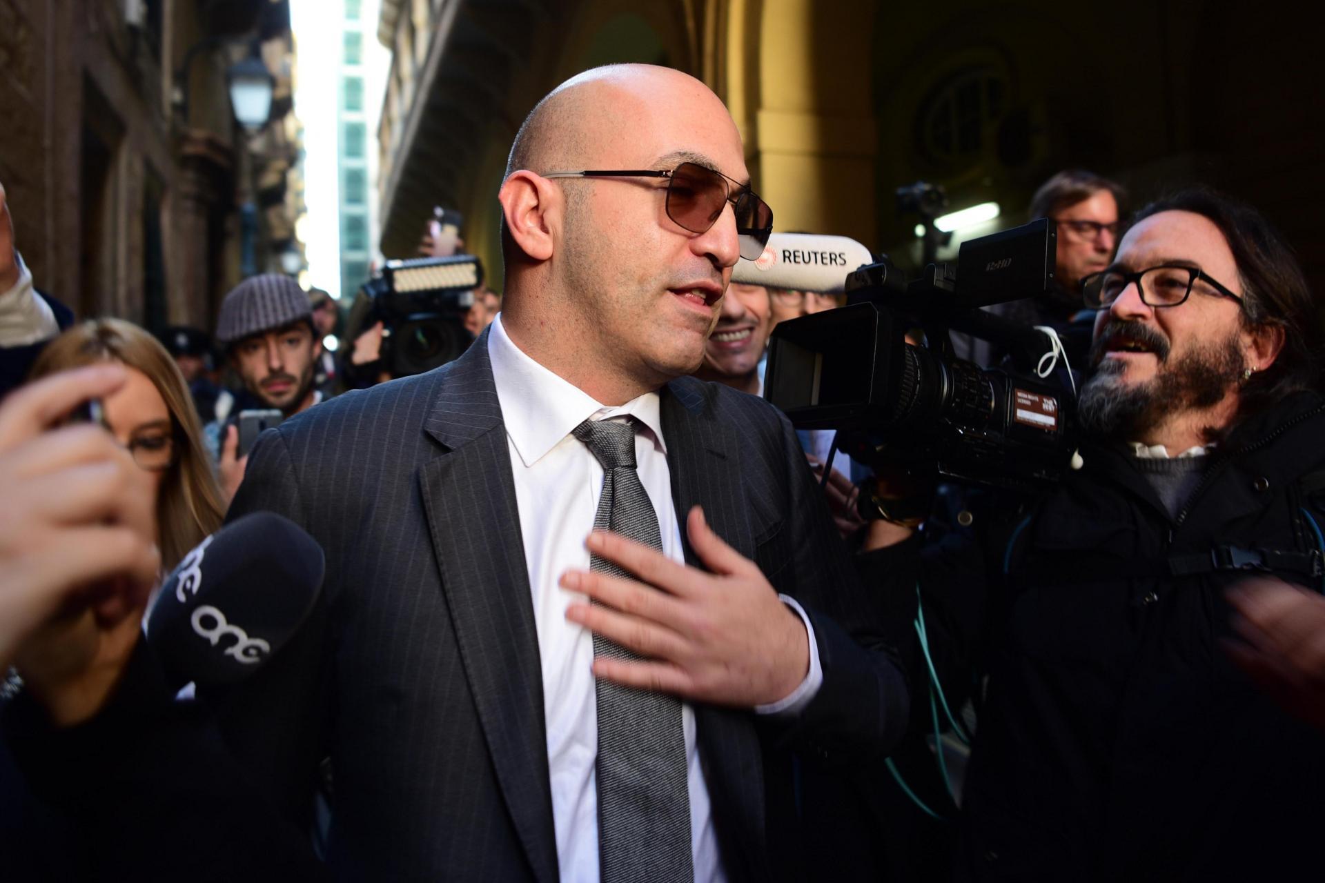 Yorgen Fenech denies conspiring to murder Daphne Caruana Galizia. Photo: Mark Zammit Cordina