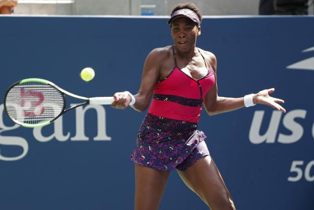 Venus Williams will face her younger sister Serena at Flushing Meadows.