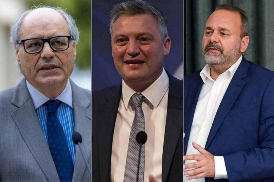 Finance Minister Edward Scicluna, former Tourism Minister Konrad Mizzi and former Economy Minister Chris Cardona are subject to an inquiry into the Vitals Global Healthcare hospitals deal.