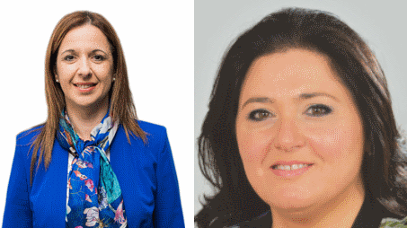 Missing out: Paula Mifsud Bonnici (PN) and Deborah Schembri (PL) failed to make the cut.