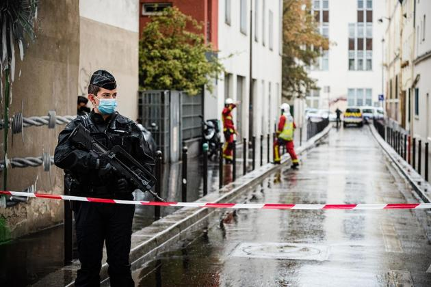 French police hold ex-flatmate of Paris cleaver attack suspect
