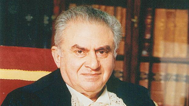 Giuseppe Mifsud Bonnici - the proposer and redactor of the constitutional amendments that set up the Commission for the Administration of Justice in 1994.