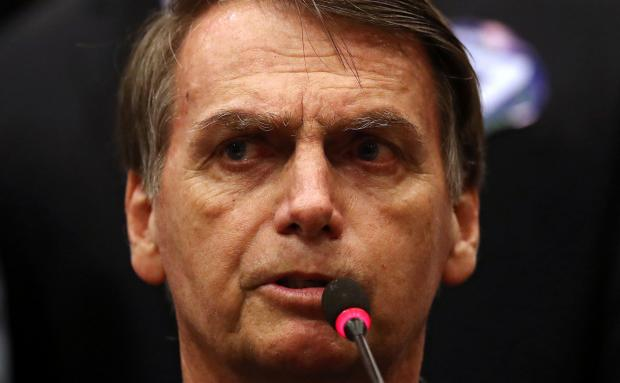 Jair Bolsonaro and the press: from 'trash' to 'friends'. Photo: Reuters