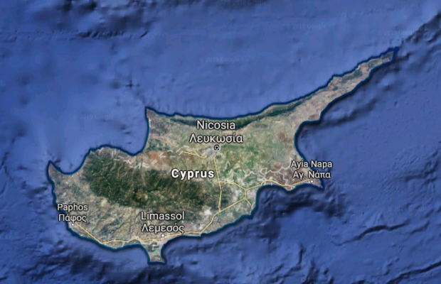 Drilling could exacerbate tensions in the divided island. Photo: Google Maps