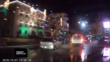 Watch: Jumps red lights, crosses junction illegally... in front of the police